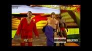 William Regal,  Ezekiel Jackson and Vladimir Kozlov attack Christian   Summerslam 2009