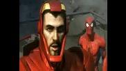 3 In 1 - Spiderman, Iron Man, Hulk