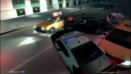 Gta Iv - гонка с полицията с фатален край...