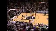 Yao Ming passes to Luis Scola twice to beat Spurs.avi