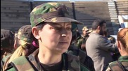 Syria: All-female recruits undergo training in Baniyas