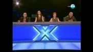 Уникaлното изпълнение на Александра - Сани X Factor