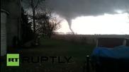 Торнадо в Илинойс