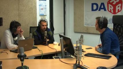"""DJ Диас в студиото на """"Дарик кафе"""""""