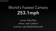 407 км/ч за 1 миля - Най-бързото Camaro в света