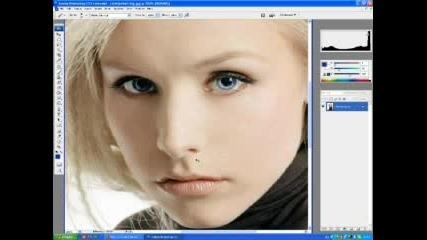Как Да Слагаме Грим С Photoshop