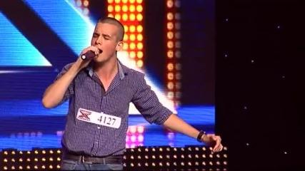 Доника Стратиева и Вениамин Димитров - X Factor (10.09.2014)