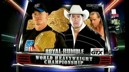 Royal Rumble 2009 John Cena Vs Jbl