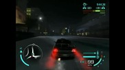 Nfs Carbon: Nightborn flee from police :d