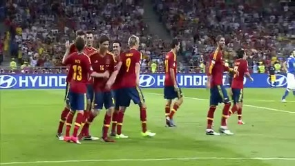 Испания-италия Финал Уефа Евро 2012 4:0 Голове и Акценти