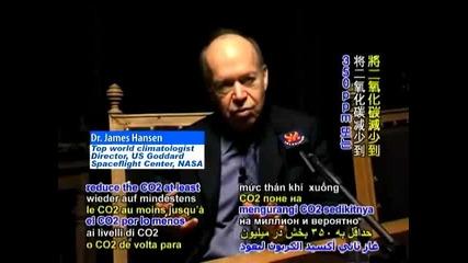Джеймс Хенсън От НАСА За Глобалното Затопляне