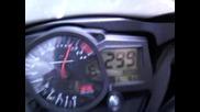 0т 0 до 300 км/ч за 20 секунди с 1000 Gsxr