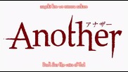 Another - Епизод 1 /бг суб/
