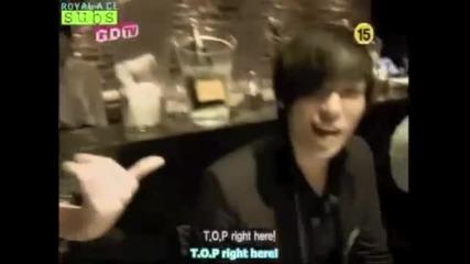 Big Bang's T.o.p speaking English