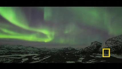 Красивото сияние на северните светлини