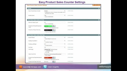 Magento Product Sold Count Extension - Store.velanapps.com