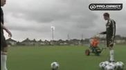 Steven Gerrard - много точен удар или просто късмет