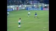 Бъгария - Франция Емил Костадинов Гол 1994г.