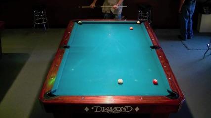 Билярд - 14 топки с 1 удар!