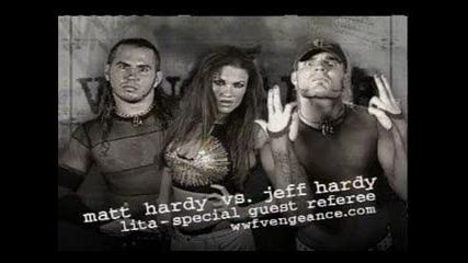 Matt Hardy vs. Jeff Hardy - Wwf Vengeance 2001