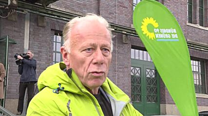 Germany: Green party deciding whether to enter coalition talks at special party congress