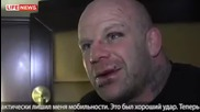 Джеф Монсън, след бой с Fedor Emelianenko