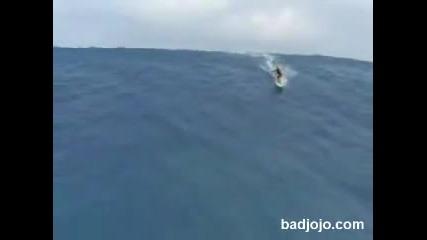 Най - голямата вълна на която се е сърфирало