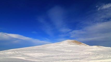 Гоцев връх през зимата
