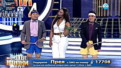 Двойници на Гришо – Рачков и Зуека трошат ракети на сцената