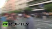 Greece: 'No' campaign protesters descend on EU bank building, clash with police