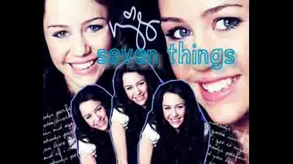Miley Cyrus - 7 Things (new song)