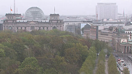 Germany: Late flurry of snow falls over Berlin in May