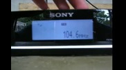 Бандскан със Sony Xdr - Перник (част 1)