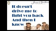 превод Jonas Brothers - World War Iii Lyrics on screen Hq Full