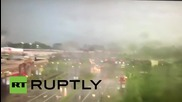USA: See CCTV footage of a tornado ripping through Beavercreek, Ohio
