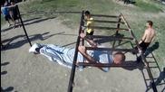 Street Fitness събиране - Пловдив 28.04.12