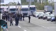 Ferry Workers Block Calais Port Again in Dispute