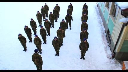 И армията е безсилна пред Harlem Shake