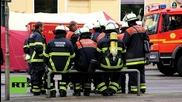 Германия: Избухна пожар в бункер пълен с пиротехника и барут