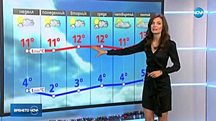 Прогноза за времето (15.12.2019 - обедна емисия)