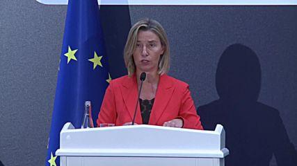 Turkey: The EU's Mogherini talks visa liberalisation, the PKK and Syria