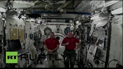 Космоса: Напрежението между Русия и Щатите няма да повлияе на екипажа на ISS