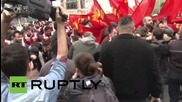 Турция: Сблъсъци с турските комунисти по време на манифестацията за Първи май