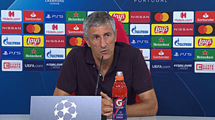 Portugal: Setien praises Lewandowki but says Messi is better ahead of Munich match