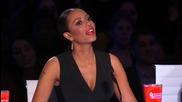Страхотен номер с гълтане на стъкло и захар ! Stevie Starr America's Got Talent 2015