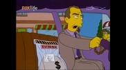 Семейство Симпсън - Барт и Хоумър стават просяци С12е07 26.08.10