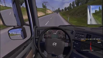 Euro Truck Simulator 2 - геймплей епизод [14] Със кака ви Стела,fr3akrlz и още аверчета ;дд
