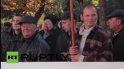 Ukraine: Protesting farmers urge Kiev to maintain ban on sale of arable land