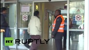 France: Crowds of people queue up outside Paris hospital to give blood