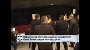 """Задържането на Октай Енимехмедов - близки кадри, заснети от ТВ """"Европа"""""""